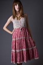 Crochet-top-telltale-hearts-vintage-dress