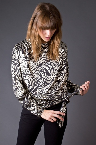 How To Wear Zebra Print Blouse 48