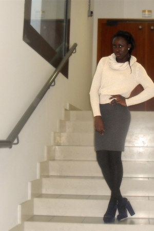 H&M jumper - Primark shoes - H&M skirt