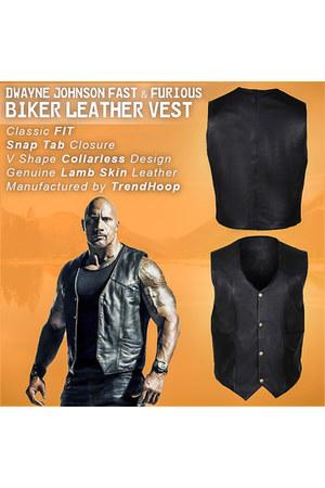 real leather Trendhoop vest