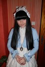 Sky-blue-bodyline-cardigan-white-bodyline-shoes-white-porcelain-doll-socks