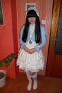 White-bodyline-shoes-white-porcelain-doll-socks-sky-blue-bodyline-cardigan