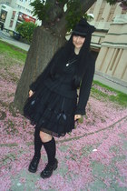 black Bodyline socks - black H&M necklace - black Bodyline blouse