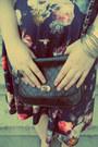Silver-h-m-bracelet-navy-lindex-dress-black-new-yorker-bag