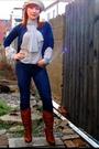 Banana-republic-cardigan-vintage-from-eons-hat-jbrand-jeans-bcbg-boots-v