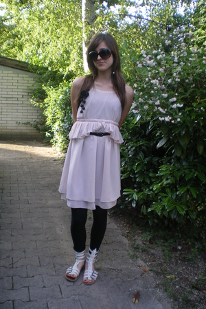 Zara dress - pull&bear shoes