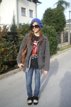 H&M hat - Zara shoes - Zara jacket