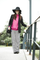 H&M hat - Zara pants