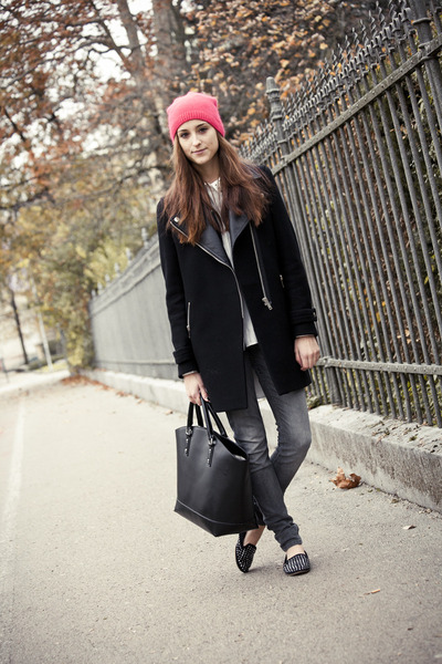 H&amp;M hat - Zara coat