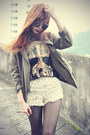 Creepers-chicwish-shoes-younghungryfree-blazer-crochet-chicwish-shorts