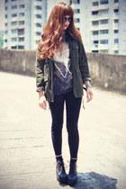 Choies sunglasses - Choies pants - Librastyle t-shirt