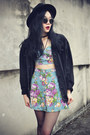 Chicwish-boots-oasap-hat-jacket-motel-rocks-skirt-motel-rocks-top