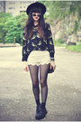Creepers-shoes-oasap-hat-lace-shorts-daisypotion-sunglasses