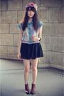 Chiffon-skirt