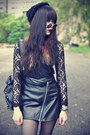 Creeper-shoes-studded-theeditorsmarket-bag-daisypotion-sunglasses-lace-top