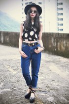 styleraiders jeans - Choies top