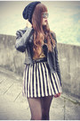 Ankle-boots-boots-motelrock-jacket-round-sunglasses-beanie-accessories