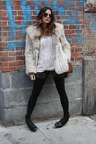 vintage jacket - Target tights - Alexander Wang bag