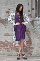 Oscar the third dress - Goddess of Babylon jacket - Miu Miu heels - Seth and Das