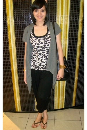 cotton on blouse - forever 21 top - pants - accessories