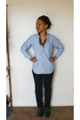 Black-jeans-periwinkle-shirt-charcoal-gray-wingtip-oxfords-flats
