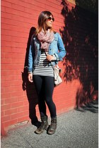 Zara jacket - Riachuelo boots - Guess bag - Forever 21 top