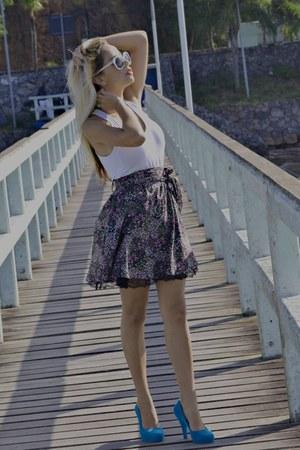 blue Vivienne Westwood Melissa Anglomania  Melissa Skyscraper heels