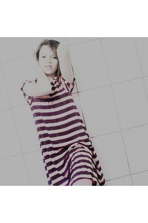 black c&a dress