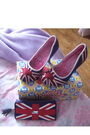 White-john-zack-dress-red-gina-accessories-red-irregular-choice-shoes