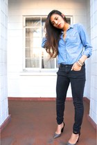 Old Navy top - PacSun pants - Aldo pumps