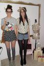 Vintage-t-shirt-topshop-shorts-primark-socks-miss-selfridge-boots-vintag