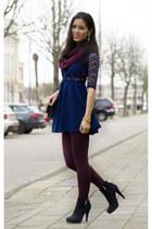 H&M dress - H&M panties - Miss Roberta pumps - Miss Roberta watch
