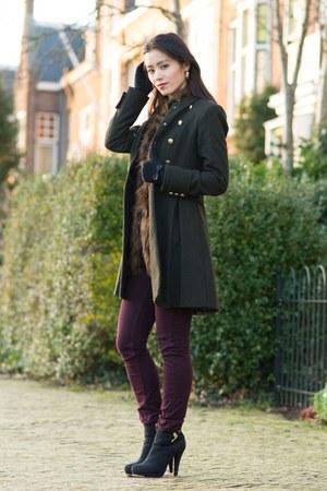 H&M coat - H&M jeans - Michael Kors watch