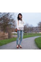 Kenzaa blazer - H&M blouse - jeans H&M pants