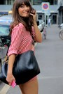 Red-zara-shirt-navy-louis-vuitton-bag-red-paul-joe-sister-shorts