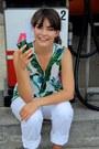 White-gant-jeans-aquamarine-zara-top-white-office-flats