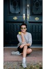 Silver-repeat-sweater-chartreuse-asos-sunglasses