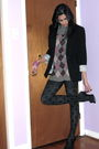 Black-h-m-jacket-black-ardene-tights-black-guess-shoes