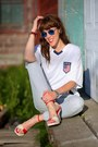 Sky-blue-railroad-stripe-merona-jeans-white-fifa-us-rhinox-shirt