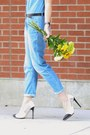 Sky-blue-jumpsuit-zara-jeans-white-mirrored-cole-haan-sunglasses