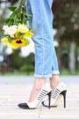 Sky-blue-jumpsuit-zara-jeans-white-mirrored-cole-haan-sunglasses