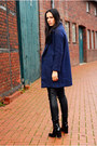 Black-zara-boots-navy-choiescom-coat-black-h-m-pants