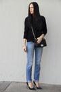 Sky-blue-tommy-hilfiger-jeans-black-zara-shirt-black-chicnova-bag