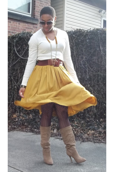 Camel Jennifer Lopez Kohls Boots Cream The Gap Sweaters Maroon Tights That 70 S Show By Thedazzlingdiva Chictopia