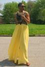 Skirt-top-sandals