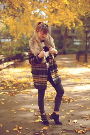 Zara coat - sam edelman boots