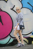 Michael Kors purse - cotton Michael Kors sweater - christian dior sunglasses