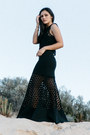 Black-two-layer-nicholas-dress