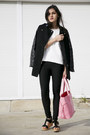 Contrast-sheinside-coat-niclaire-bag-tregging-unlabelled-pants