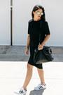 Black-sadie-tee-wolf-mishka-dress-black-mira-minskat-copenhagen-bag